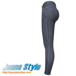 Ảnh số 98: Quần jean nữ cạp cao skinny 2347-1 - Giá: 370.000