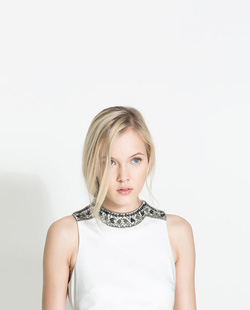 Ảnh số 30: Zara white dress - Giá: 1.350.000