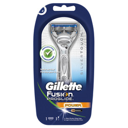 Ảnh số 4: Dao cạo râu Gillette Fusion Silver Power - Giá: 680.000