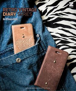 Ảnh số 30: Bao da iphone 5 và 5s Zenus Retro Vintage Diary - Giá: 699.000