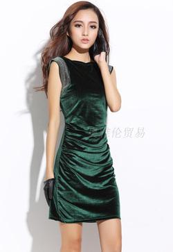 Ảnh số 75: Váy nhung dự tiệc LADYROY- 3013 - Giá: 495.000