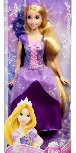 Ảnh số 4: (Disney Princess) Công chúa Rapunzel đội vương miện màu tím - Giá: 350.000