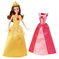 Ảnh số 7: (Disney Princess) Búp bê Belle và 2 bộ đầm thời trang - Giá: 350.000