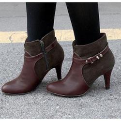 Ảnh số 31: Giày Boot Nữ Cao Gót Đẹp - Giá: 10.000