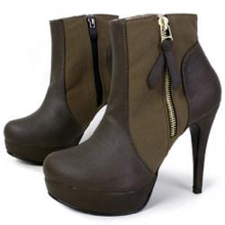 Ảnh số 32: Giày Boot Nữ Cao Gót Đẹp - Giá: 10.000
