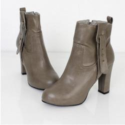 Ảnh số 33: Giày Boot Nữ Cao Gót Đẹp - Giá: 10.000