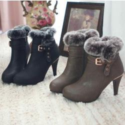 Ảnh số 51: Giày Boot Nữ Cổ Ngắn - Giá: 10.000