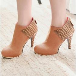 Ảnh số 52: Giày Boot Nữ Cổ Ngắn - Giá: 10.000
