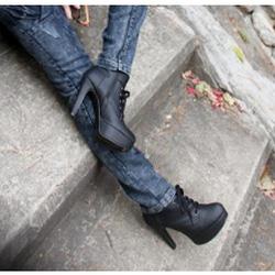 Ảnh số 53: Giày Boot Nữ Cổ Ngắn - Giá: 10.000