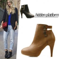 Ảnh số 59: Giày Boot Nữ Cổ Ngắn - Giá: 10.000