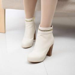 Ảnh số 71: Boot Nữ Hàn Quốc Cổ Thấp - Giá: 10.000