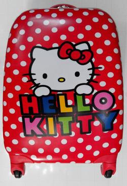 Ảnh số 87: vali vuông kitty chấm bi - Giá: 950.000