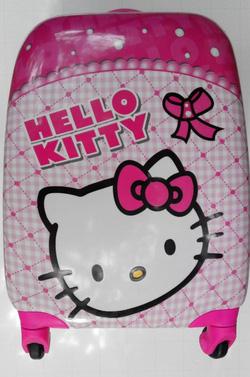 Ảnh số 89: Vali vuông kitty 2 mặt - Giá: 1.100.000