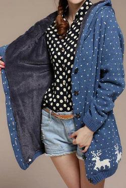 Ảnh số 59: Áo len giáng sinh/ Size: S, M, L / Màu: Trắng, Vàng, Xanh da trời, Xám / Xuất xứ Made in Korea - Giá: 350.000