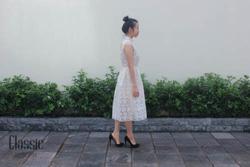 Ảnh số 47: Váy ren hoa màu ngà - Giá: 650.000