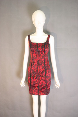 Ảnh số 13: Đầm D7028 đỏ - Giá: 700.000