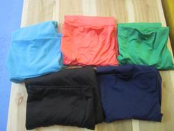 Ảnh số 42: Áo ba lỗ cao cổ, chất thun lanh, có màu xanh da trời, cam, xanh coban, đen, tím than - 60k - Giá: 60.000