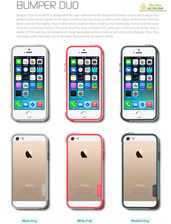 Ảnh số 38: Viền iphone 5S Zenus Avoc Bumper Duo - Giá: 450.000