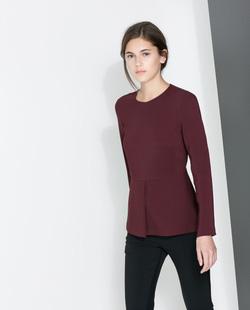 Ảnh số 23: Peplum shirt - Giá: 1.500.000