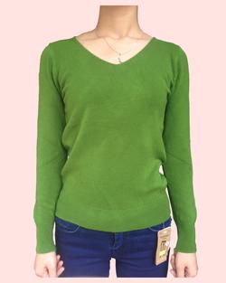 Ảnh số 28: áo len cổ tim - Giá: 220.000