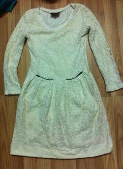 Ảnh số 19: Váy ren, lớp lót bên trong là cotton co giãn, size s, new 70% 150k - Giá: 150.000