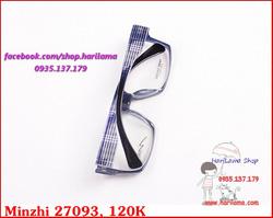 Ảnh số 37: Gọng Kính Nhựa, Kính Nhựa Dẻo, Gọng Nhựa Dẻo Minzhi Tr90 - Giá: 120.000