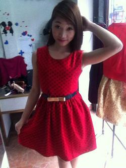 Ảnh số 22: váy dạ xòe sao biển, chất dày, chân váy mềm tạo dáng cho bạn nữ nét dịu dàng mà vẫn rất cá tính nhé  ( có màu đỏ, gạch, đen- trắng) giá 279k - Giá: 279.000