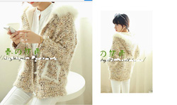 Ảnh số 45: áo len khoác lớt lông - Giá: 490.000