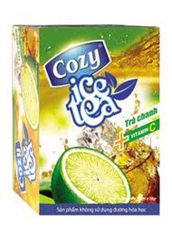 Ảnh số 28: Trà cozy ice tea hương chanh - Giá: 24.500