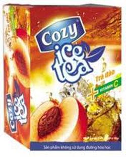 Ảnh số 29: Trà cozy ice tea hương đào - Giá: 24.500