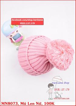 Ảnh số 27: mũ len nữ 1 quả bông - Giá: 123.456.789