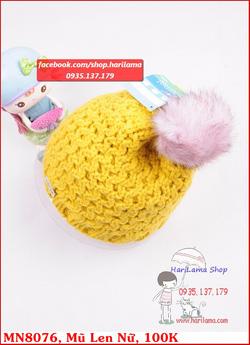 Ảnh số 30: mũ len đan móc siêu đẹp - Giá: 123.456.789