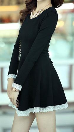 Ảnh số 9: Váy thêu ren / Size: M,L / Màu: Trắng, Đen, Ghi / Xuất xứ Made in Korea - Giá: 450.000