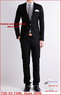 Ảnh số 47: Áo Vest Nam, Áo Vest Nam Style Hàn, Vest Cưới, Vest TSD MS03 - Giá: 750.000