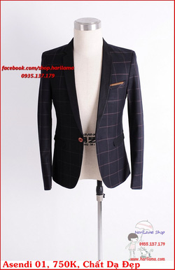 Ảnh số 67: Áo Vest Nam, Áo Vest Nam Style Hàn, Vest Cưới, Vest Asendi MS01, 750K - Giá: 750.000
