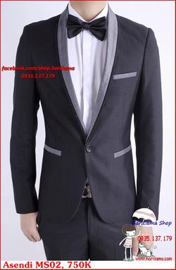 Ảnh số 69: Áo Vest Nam, Áo Vest Nam Style Hàn, Vest Cưới, Vest Asendi MS02, 750K - Giá: 750.000