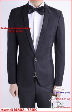 Ảnh số 70: Áo Vest Nam, Áo Vest Nam Style Hàn, Vest Cưới, Vest Asendi MS03, 750K - Giá: 750.000
