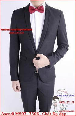 Ảnh số 74: Áo Vest Nam, Áo Vest Nam Style Hàn, Vest Cưới, Vest Asendi MS07, 750K - Giá: 750.000
