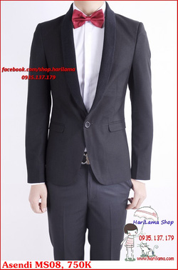 Ảnh số 75: Áo Vest Nam, Áo Vest Nam Style Hàn, Vest Cưới, Vest Asendi MS08, 750K - Giá: 750.000