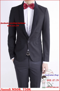 Ảnh số 76: Áo Vest Nam, Áo Vest Nam Style Hàn, Vest Cưới, Vest Asendi MS08, 750K - Giá: 750.000