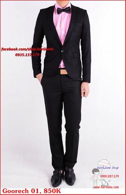 Ảnh số 80: Áo Vest Nam, Áo Vest Nam Style Hàn, Vest Cưới, Vest Goorech MS01, 850K - Giá: 850.000