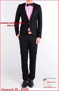 Ảnh số 81: Áo Vest Nam, Áo Vest Nam Style Hàn, Vest Cưới, Vest Goorech MS01, 850K - Giá: 850.000