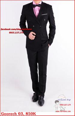 Ảnh số 85: Áo Vest Nam, Áo Vest Nam Style Hàn, Vest Cưới, Vest Goorech MS03, 850K - Giá: 850.000