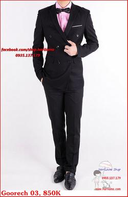 Ảnh số 86: Áo Vest Nam, Áo Vest Nam Style Hàn, Vest Cưới, Vest Goorech MS03, 850K - Giá: 850.000