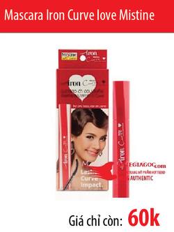 Ảnh số 41: Mascara Iron Curve love Mistine - Giá: 60.000