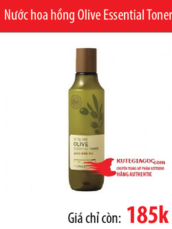 Ảnh số 56: Nước hoa hồng The Face Shop Olive Essential Toner - Giá: 185.000