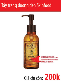 Ảnh số 59: Tẩy trang đường đen Skinfood - Black sugar cleansing oil 170ml - Giá: 200.000