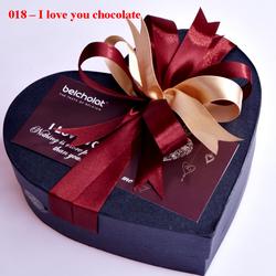 Ảnh số 32: I love you chocolate - Giá: 330.000