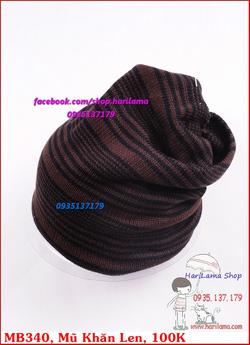 Ảnh số 27: Mũ Nam, Mũ Len Nam, Mũ Nỉ Nam, Mũ Khăn Nam, Mũ Nam Hàn Quốc - Giá: 100.000