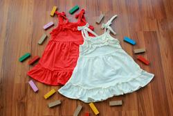 Ảnh số 1: Váy xòe 2 dây - Giá: 1.000